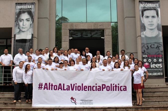 #AltoALaViolenciaPolítica | Mujeres sinaloenses piden cese violencia política en México