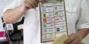 INE presenta y prueba materiales electorales para elecciones del 1 de julio
