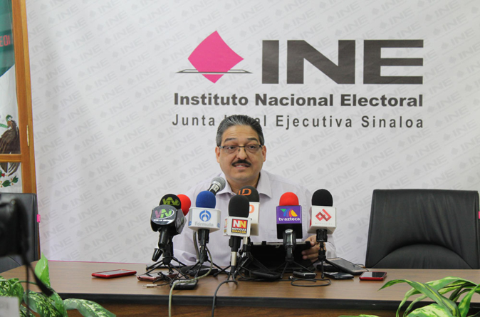 Hasta el 6 de agosto se aprobaran dictámenes de fiscalización: INE Sinaloa