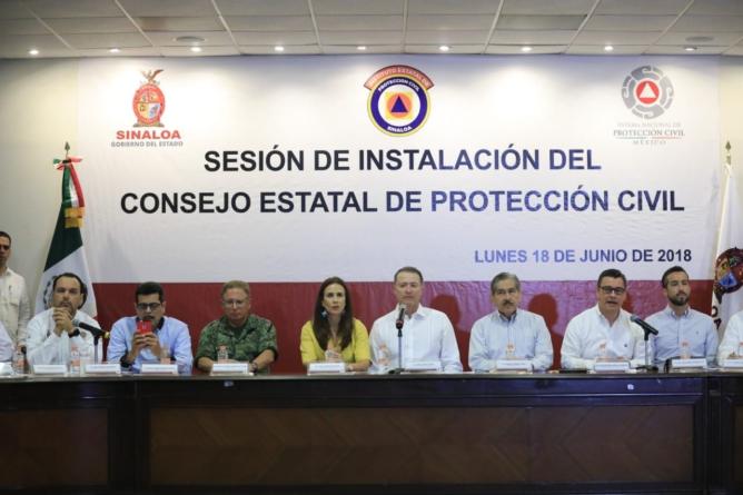 Sinaloa listo para la temporada de huracanes