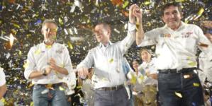 Pasistas reciben a Ricardo Anaya en Culiacán