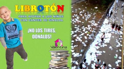 Mientras en secundarias destruyen libros, otros piden donarlos para niños con cáncer