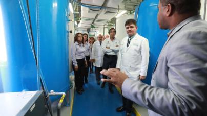 Inauguran la única planta de oxígeno medicinal en Hospital Civil de Culiacán