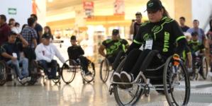 Realiza el DIF Sinaloa exhibición de uso y manejo de sillas de ruedas en Culiacán