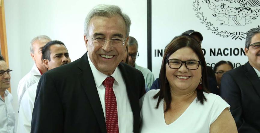 Imelda Castro y Rocha Moya reciben constancia de mayoría y ya son senadores electos