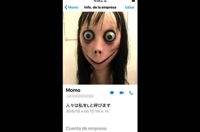 El 'reto Momo' podría haber sido usado para robar tus datos personales