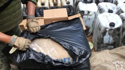 Ejército 'revienta' narcolaboratorio en Badiraguato y asegura millonaria carga de goma de opio
