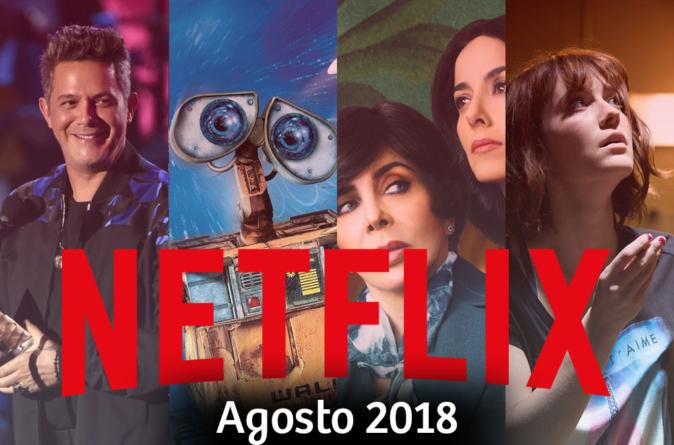 Wall-E, La casa de las flores y la película de Alejandro Sanz llegan a Netflix en agosto