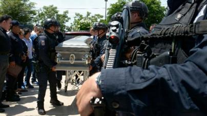 Homenaje a policía caído en Culiacán | Memo, ejemplo de heroísmo