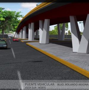 Galería | Así quedará el paso superior por la Pedro Infante y Rolando Arjona
