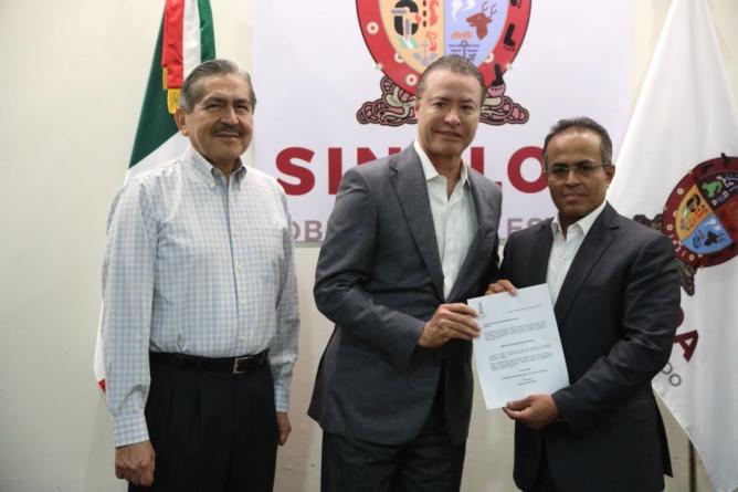 Nombra Quirino Ordaz a nuevo secretario de seguridad pública en Sinaloa