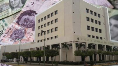 Recupera Fiscalía de Sinaloa 7 MDP desviados por exfuncionarios