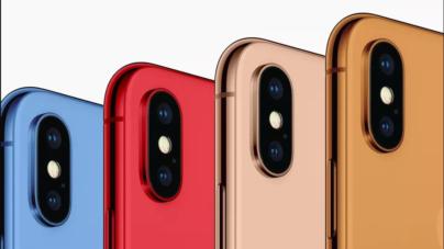 Los iPhone de 2018 podrían venderse en varios colores