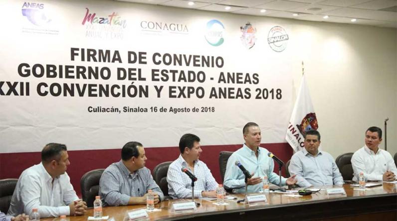 Mazatlán será la sede de la XXXII Convención de la ANEAS | Vendrían EPN y AMLO