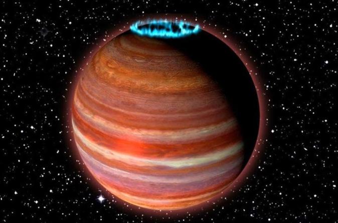 Encuentran un planeta 12 veces más grandes que Júpiter
