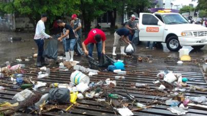 Recogen 30 toneladas y la gente sigue tirando basura… ¿y el nuevo Bando de Policía?