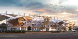 Listo para octubre | Así quedará el nuevo estadio de los Dorados