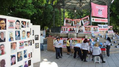 Sabuesos Guerreras conmemoran un año de búsqueda durante el día de los desaparecidos