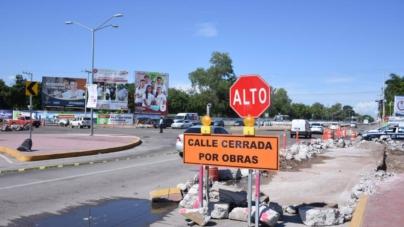 No cumplen con lo prometido… el bulevar Pedro Infante sigue cerrado