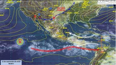 Va a llover sobre mojado | SMN pronostica lluvias y actividad eléctrica esta tarde en Sinaloa