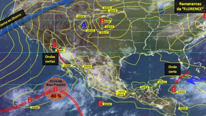 Altas temperaturas dan origen a depresión tropical que podría afectar a Sinaloa