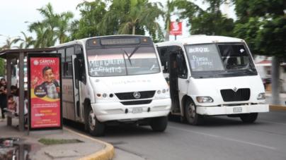 Buscan establecer un carril preferente para el transporte público en Mazatlán