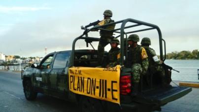 Ejército aplica Plan DN-III-E en 5 municipios de Sinaloa