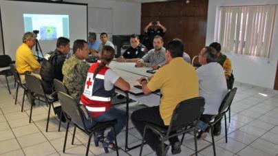 """Vigila Protección Civil a """"Rosa"""" y """"Sergio""""   Instala grupo operativo de seguimiento"""