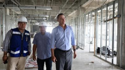 Supervisa gobernador Quirino Ordaz avance en construcción del Hospital General de Mazatlán