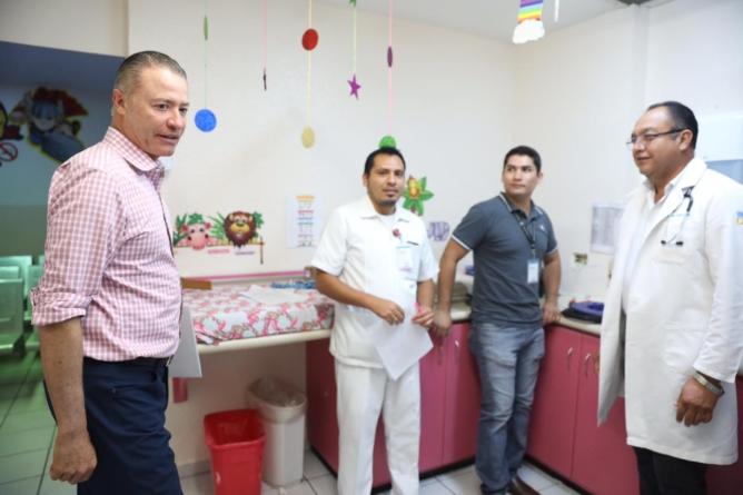 Anuncia Quirino Ordaz construcción de nuevo Hospital Pediátrico en Culiacán