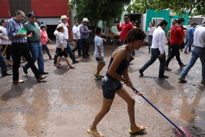 Japac busca llegar a un acuerdo con damnificados por las lluvias