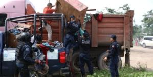 Intensa campaña de limpieza en comunidades afectadas por las lluvias