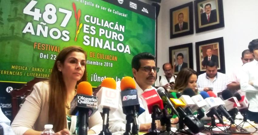 Reducen en 90% el costo de los festejos por el aniversario de Culiacán