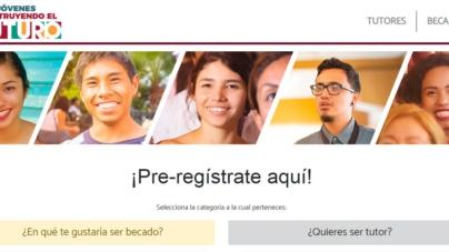 Ya inició el prerregistro para becas a jóvenes de AMLO