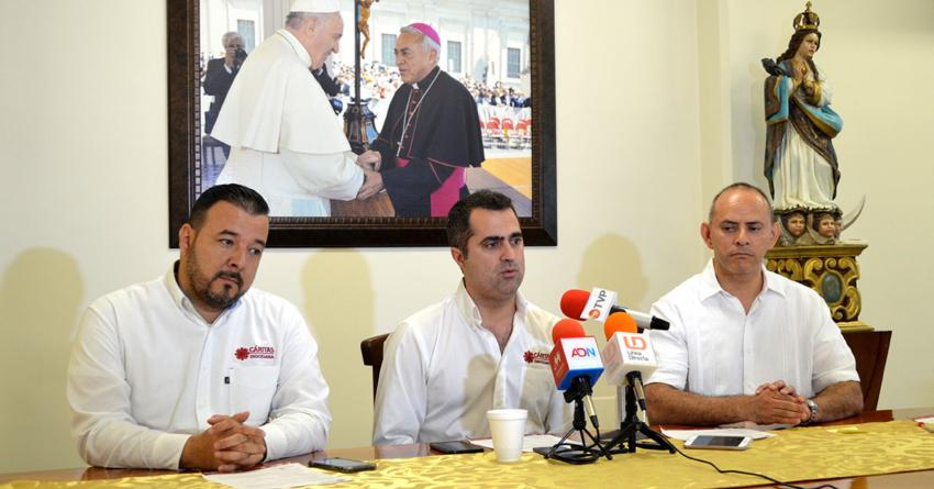 Cáritas apoyará a viviendas más afectadas por las lluvias