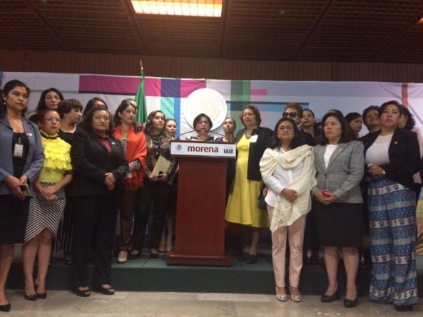Morena propondrá despenalización del aborto en todo el país