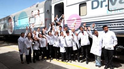 El Tren de la Salud modifica su ruta para apoyar a damnifacados sinaloenses