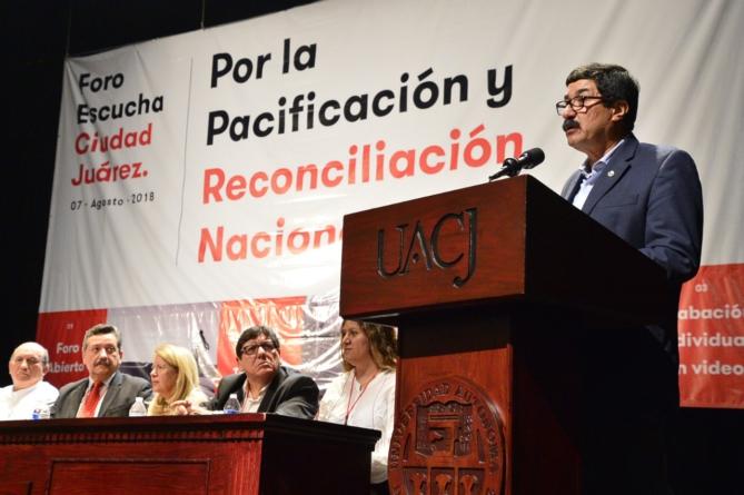 Foros para la paz en Sinaloa serán el 14 de septiembre