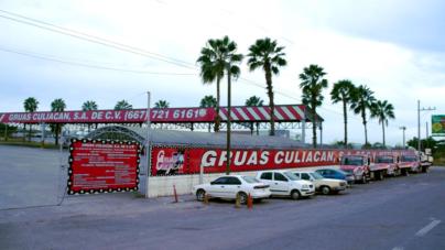 Ayuntamiento busca predio para sustituir a Grúas Culiacán