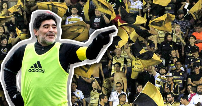 Deja Maradona la dirección técnica de Dorados de Culiacán