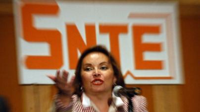 Protestan en contra de reposicionamiento de Elba Esther Gordillo en el SNTE