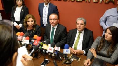 Diputados priistas piden a Morena respeto a las minorías y se autoexcluyen de la Mesa Directiva