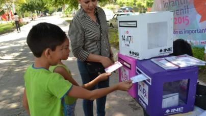 INE e IEES anuncian Consulta Infantil y Juvenil 2018 en Sinaloa
