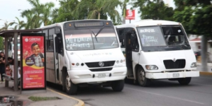 Camiones urbanos de Mazatlán no circularán esta tarde para evitar caos por huracán Willa