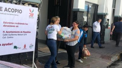 Por paso de Willa, DIF Sinaloa activa Centro de Acopio en Mazatlán