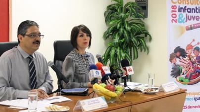 INE e IEES realizarán consulta infantil 2018 a niños y adolescentes
