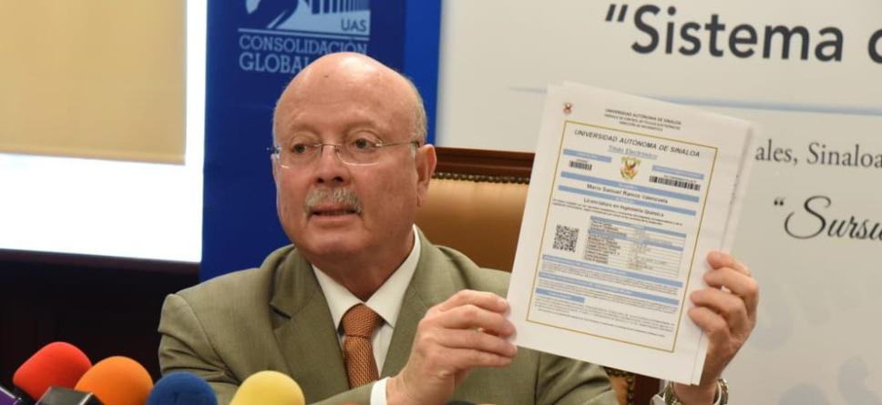 Ahora los títulos de la UAS solo serán válidos en formato electrónico