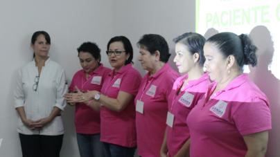 Octubre rosa | Grupo Gamma recibe conferencia sobre el 'Manejo de dolor'