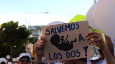 Marchan en Culiacán por defensa a la vida desde la concepción
