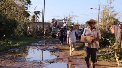 150 toneladas de víveres han llegado a la zona afectada de Sinaloa por Willa: Rosy Fuentes